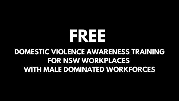 Free DV Training for NSW Workplaces